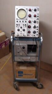 Tektronix 585a 80mhz Oscilloscope With Accessories