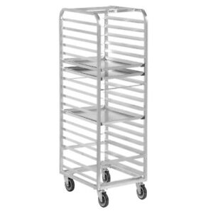 Channel Bun Pan Rack Aluminum Front Loading 70 1 4 High For 12 Pans