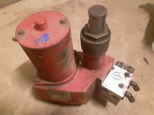 Working Western Unimount Snow Plow Pump Uni Mount Soleniod Good Backup Uni Mount