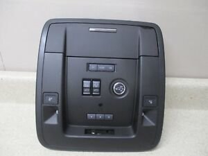 New 15 17 Chevy Gm Escalade Roof Console Mirror Sunroof Switch Oem 23268210