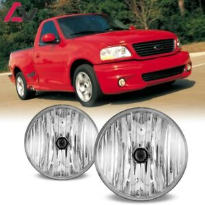 For Ford F 150 01 04 Clear Lens Pair Bumper Fog Light Lamp Oe Replacement Dot