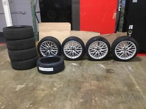 Audi A6 19 Winter Tires And Rims Plus 4 Summer Tires 1 New Winter Spare
