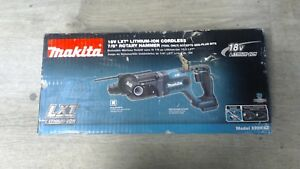 New Makita 18 Volt Lxt 7 8 Sds plus Rotary Hammer Hammer