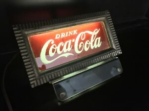 1950's Coca Cola Light Up Counter Sign Display