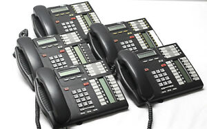 Lot Of 5 Nortel T7316e Professional Business Office Phone Nt8b27jaaae6