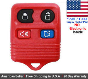 1x New Replacement Keyless Remote Key Fob For Ford Lincoln Mercury Shell Only