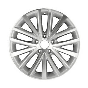 Oem Used 17x7 Alloy Wheel Light Silver With A Machined Face 560 69910