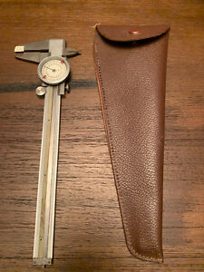 Vintage Helios Calipers With Leather Case Made In Western Germany