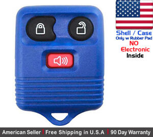 1x New Replacement Keyless Entry Key Fob For Ford 2l3t 15k601 Ab Shell Only