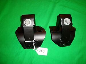 73 87 Chevy Truck Factory Bucket Seat Floor Mount Brackets Oem Gm Gmc Blazer K10