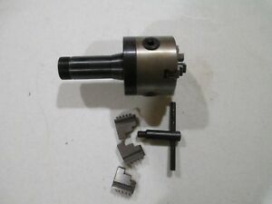 3 Inch 3 jaw Lathe Chuck Precision Self Centering Used