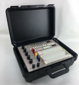 Rsr Electronics Analog digital Trainer Pad 234 a In Hard Case Fast Ship R01