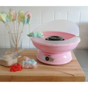 Cotton Candy Maker Portable Party Pink Electric Non Slip Counter Top Kitchen Kit