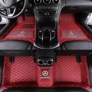 2007 2018 Car Floor Mats For Mercedes benz W211 W212 W213 E220 250 350 280 300