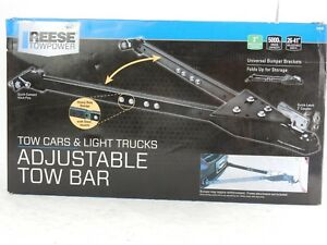 Reese Towpower Adjustable Tow Bar 5000lb 70142 New