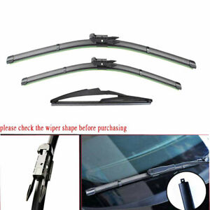 For Mercedes Benz Gl320 Ml350 R350 Set Of 2 Factory Front Windshield Wiper Blade