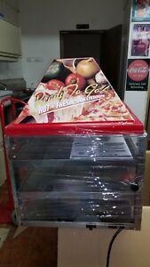 Wisco Counter Top Pizza Warmer Model 680 3 New