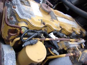 2001 Cat 3126 Diesel Engine Runs Has Blow By Needs Repair Free Shipping