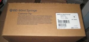 40 Lot Of Bd Syringes 60 Ml Catheter Tip With Cap 309620