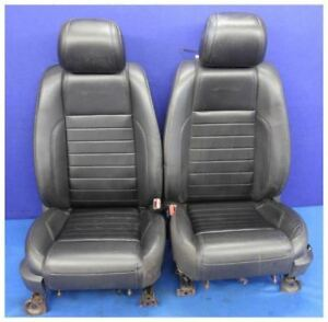2011 2014 Ford Mustang Premium Leather Coupe Seats Oem Hot Rod