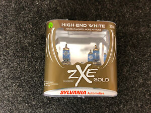 Sylvania Silverstar Zxe Gold 9006 Pair Set Headlight Bulbs Xenon Fueled