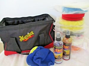 Meguiars G110v2 Pro Polisher Kit unit pads extras Valeting Auto Detailing