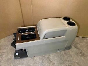 11 12 13 14 Lincoln Navigator Front Center Console Assembly Tan Leather