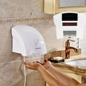 Us 1800w Waterproof Air Hand Dryer Automatic Infared Sensor Commercial Household