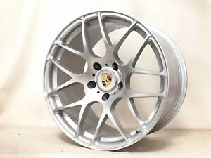 19 inch Porsche Ruger Wheels rims Boxster Cayman Silver 5x130 Lugs