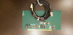Fadal Cnc Pcb 0008 M Function Board With Wir 0178 Indexer Cable 13 Feet