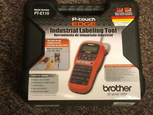 New Brother P touch Edge Pt e110 Label Maker Printer W Case Free Shipping