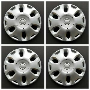 New Wheel Covers Hubcaps Fits 2010 2013 Ford Transit Connect 15 Silver Set Of 4