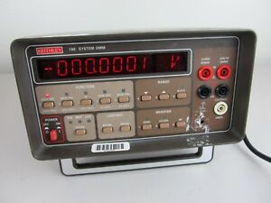 Keithley 196 6 5 Digit Digital Multimeter Bench Top Dmm In Working Condition