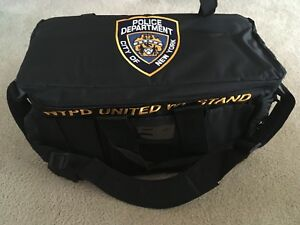 Nypd Duty Patrol Tactical Gear Bag New York Police Duffel Swat Camping Pistol