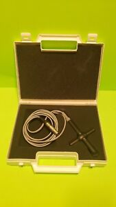 Ge 2 0 Mhz Te 100024 Ultrasound Probe With Case Fast Shipping