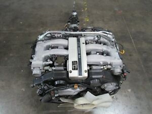 Jdm Nissan Vg30 Engine And 5 Speed Transmission Non Turbo Vg30de 300zx