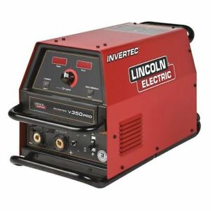 Lincoln Electric K2437 2 Multiprocess Welder Invertec Series 34v