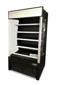 New Open Air Merchandiser Refrigerator Grab And Go Cooler Air Curtain Grab N Go