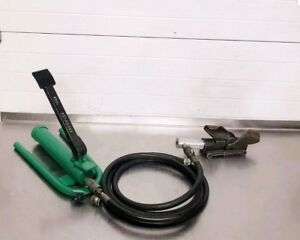 Greenlee 800 Hydraulic Cable Bender W 1725 Foot Pump 2
