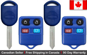 2 Replacement Keyless Remote Key Fob For Ford Lincoln Mazda Mercury 80 40 Chip