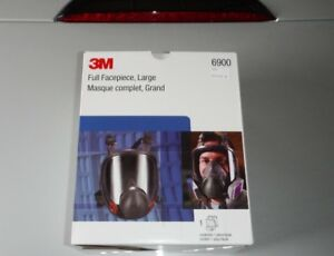 3m Authentic Full Face Respirator 6900 large New In Box