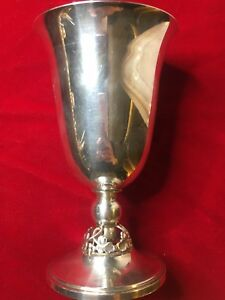 Fisher Sterling Silver Chalice Goblet No Mono 173 G