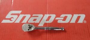 Snap On Tools 1 4 Drive 4 1 2 Long Standard Handle Ratchet Tm830 Ships Free