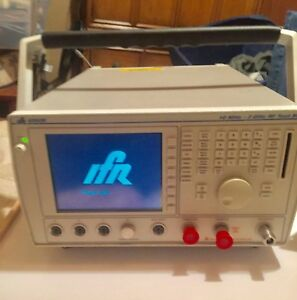 Ifr 6202b Rf Test Set 10mhz 2 Ghz Working Condition Max Dc Input 42v Wow