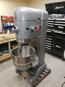 Hobart 80 Qt M802 Mixer 3 Phase 3 Hp Stainless Bowl Tools 12 Hub