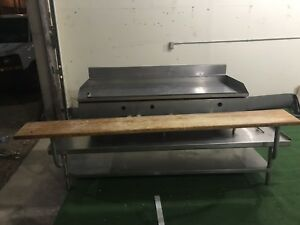 Industrial Flat Top Grill