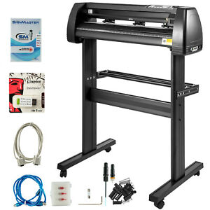 Vinyl Cutter Plotter Sign Cutting 28 Desktop Sticker Print Package Deal With