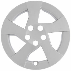 1 Piece Fits Toyota Prius 2010 2011 2012 15 Inch Silver Hub Cap Wheel Cover