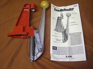 Lee Reloader Single Stage Press Reloading Rifle Handgun