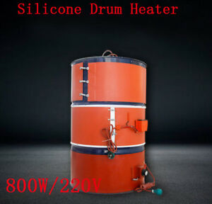 Adjustable Silicon Rubber Band 55 Gallon Heater For Metal Oil Drum Heating 800w